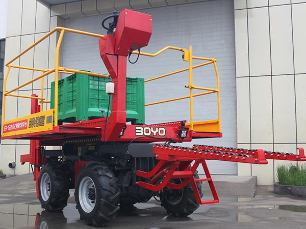 Self-Propelled Extension Orchard Platform
